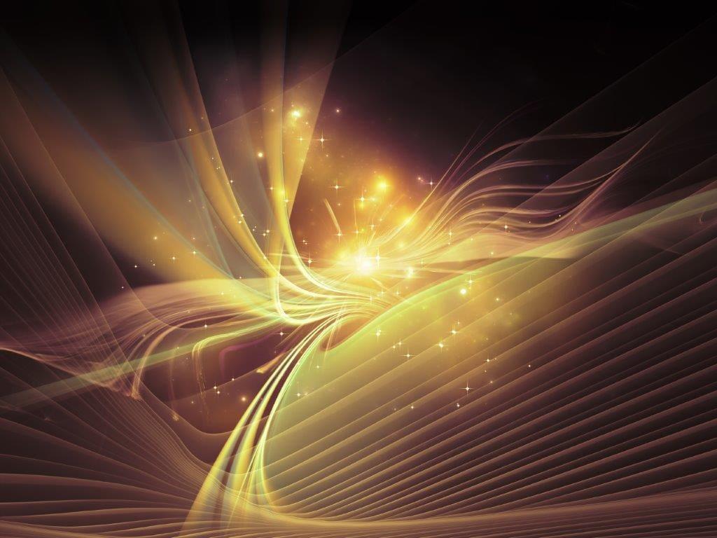 radiate light